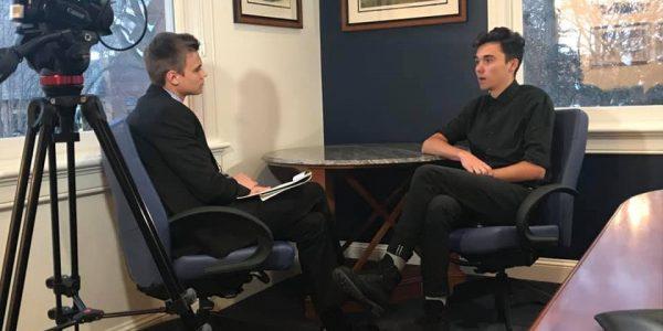 David Hogg interview